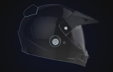Airwheel C8 racing helmet combines safety, utility and beauty